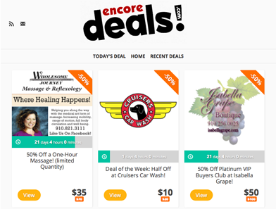 Encore Deals
